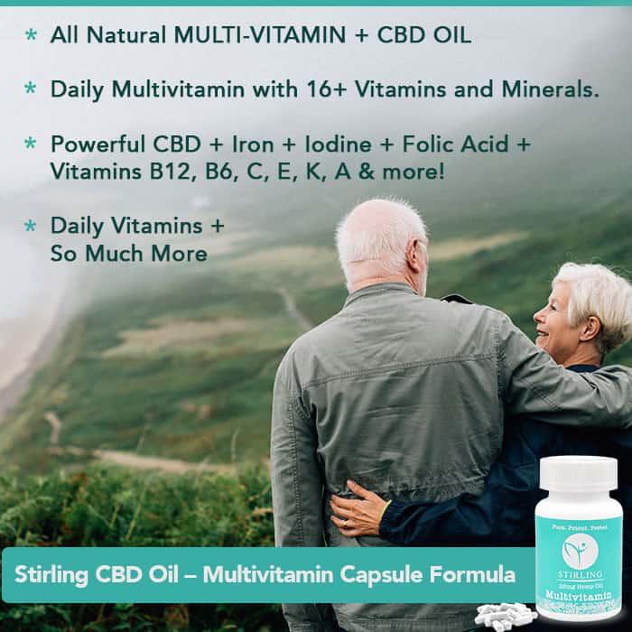 CND & Multi-Vitamin formula. Great CBD for healthy body.