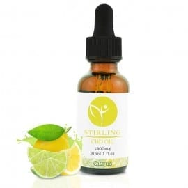 CBD Oil. 1500mg Citrus CBD Oil. CBD for Pain & Stress reduction