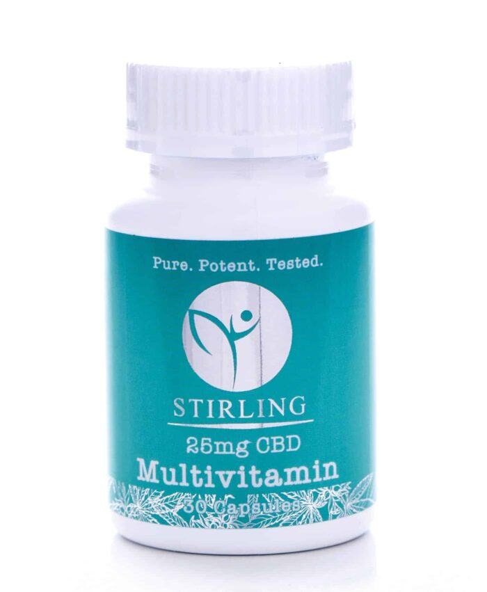 CBD Capsules - Multi-Vitamin